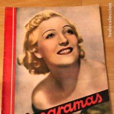 Cine: CINEGRAMAS 80 MARZO 1936.MARTA EGGERTH BRIGITTE HELM NORMA SHEARER CHARLIE CHAPLIN CHARLOT. Lote 183427632