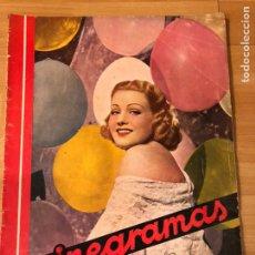 Cine: CINEGRAMAS 79 1936.ERICH VON STROHEIM.CARY GRANT.MARLENE DIETRICH.IMPERIO ARGENTINA MORENA CLARA. Lote 183428795