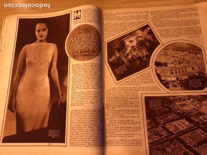 Cine: Cinegramas 83 abril 1936.marlene Dietrich deseo.claire trevor.morena clara Imperio Argentina - Foto 4 - 183429887