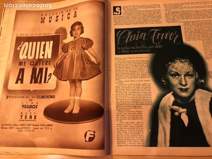 Cine: Cinegramas 83 abril 1936.marlene Dietrich deseo.claire trevor.morena clara Imperio Argentina - Foto 6 - 183429887