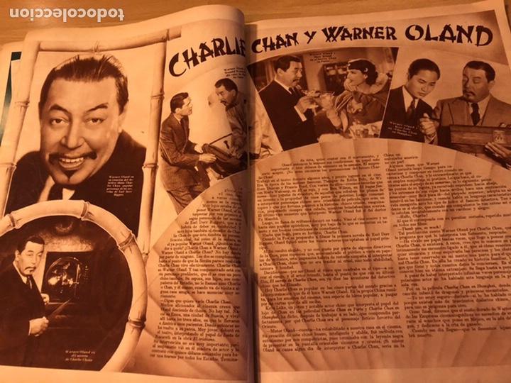 Cine: Cinegramas 83 abril 1936.marlene Dietrich deseo.claire trevor.morena clara Imperio Argentina - Foto 8 - 183429887
