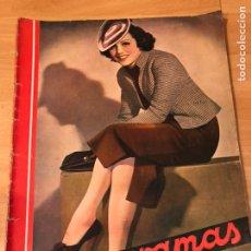 Cine: CINEGRAMAS 83 ABRIL 1936.MARLENE DIETRICH DESEO.CLAIRE TREVOR.MORENA CLARA IMPERIO ARGENTINA. Lote 183429887