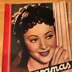 Cine: CINEGRAMAS 90 1936.OLIVIA DE HAVILLAND.MARIA DE LA O CARMEN AMAYA.KATHARINE HEPBURN.RICARDO CORTEZ. Lote 183430470