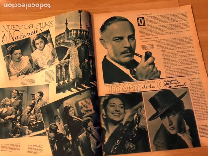 Cine: Cinegramas 93 1936.raquel rodrigo.maria de la o Carmen Amaya.buster keaton.imperio argentina astaire - Foto 3 - 183431336