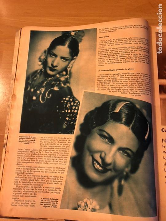 Cine: Cinegramas 93 1936.raquel rodrigo.maria de la o Carmen Amaya.buster keaton.imperio argentina astaire - Foto 4 - 183431336
