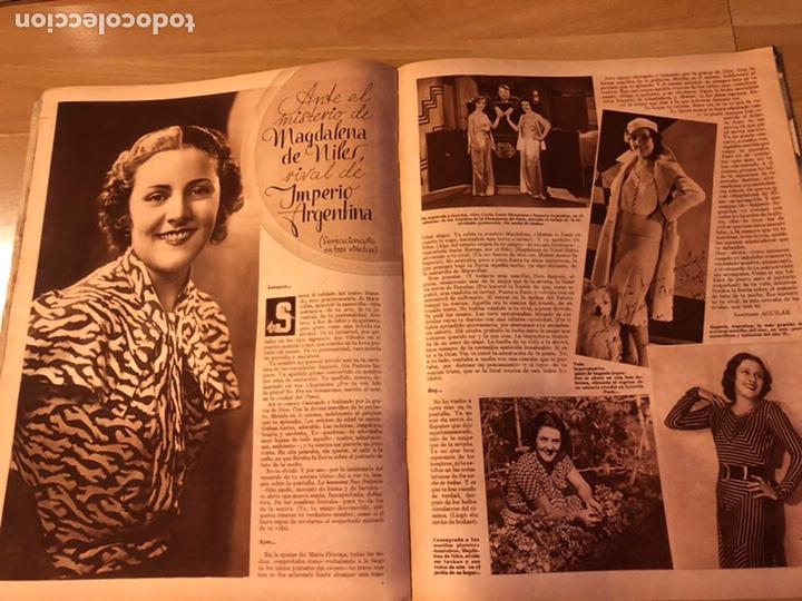 Cine: Cinegramas 93 1936.raquel rodrigo.maria de la o Carmen Amaya.buster keaton.imperio argentina astaire - Foto 5 - 183431336