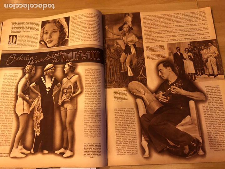 Cine: Cinegramas 93 1936.raquel rodrigo.maria de la o Carmen Amaya.buster keaton.imperio argentina astaire - Foto 8 - 183431336