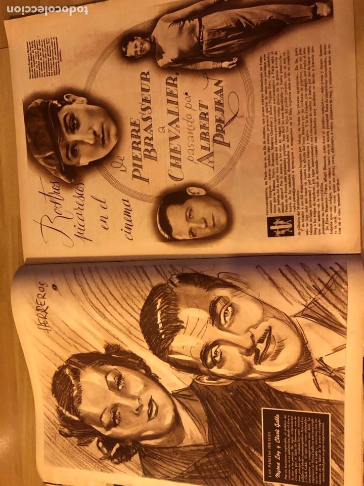Cine: Cinegramas 93 1936.raquel rodrigo.maria de la o Carmen Amaya.buster keaton.imperio argentina astaire - Foto 9 - 183431336