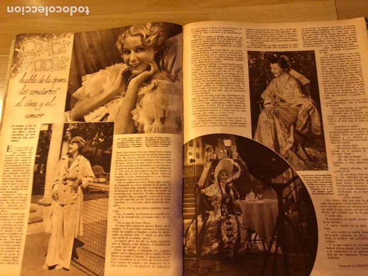 Cine: Cinegramas 93 1936.raquel rodrigo.maria de la o Carmen Amaya.buster keaton.imperio argentina astaire - Foto 10 - 183431336