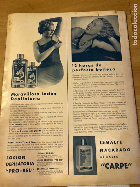 Cine: Cinegramas 93 1936.raquel rodrigo.maria de la o Carmen Amaya.buster keaton.imperio argentina astaire - Foto 11 - 183431336