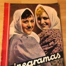 Cine: CINEGRAMAS 93 1936.RAQUEL RODRIGO.MARIA DE LA O CARMEN AMAYA.BUSTER KEATON.IMPERIO ARGENTINA ASTAIRE. Lote 183431336