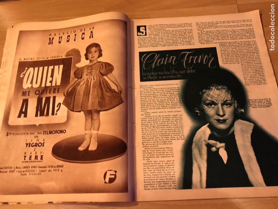Cine: Cinegramas 83 abril 1936.marlene Dietrich deseo.claire trevor.morena clara Imperio Argentina - Foto 5 - 183431830