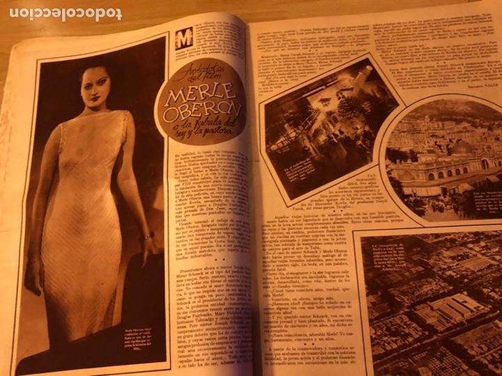 Cine: Cinegramas 83 abril 1936.marlene Dietrich deseo.claire trevor.morena clara Imperio Argentina - Foto 8 - 183431830