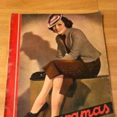 Cine: CINEGRAMAS 83 ABRIL 1936.MARLENE DIETRICH DESEO.CLAIRE TREVOR.MORENA CLARA IMPERIO ARGENTINA. Lote 183431830