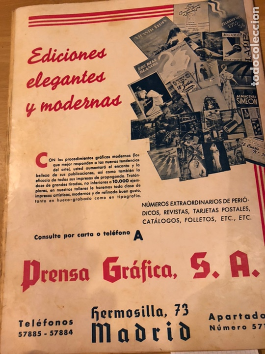 Cine: Cinegramas 94.carole lombard.historia de dos ciudades.claudette colbert - Foto 9 - 183433372