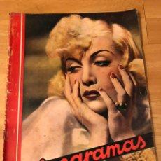 Cine: CINEGRAMAS 94.CAROLE LOMBARD.HISTORIA DE DOS CIUDADES.CLAUDETTE COLBERT. Lote 183433372