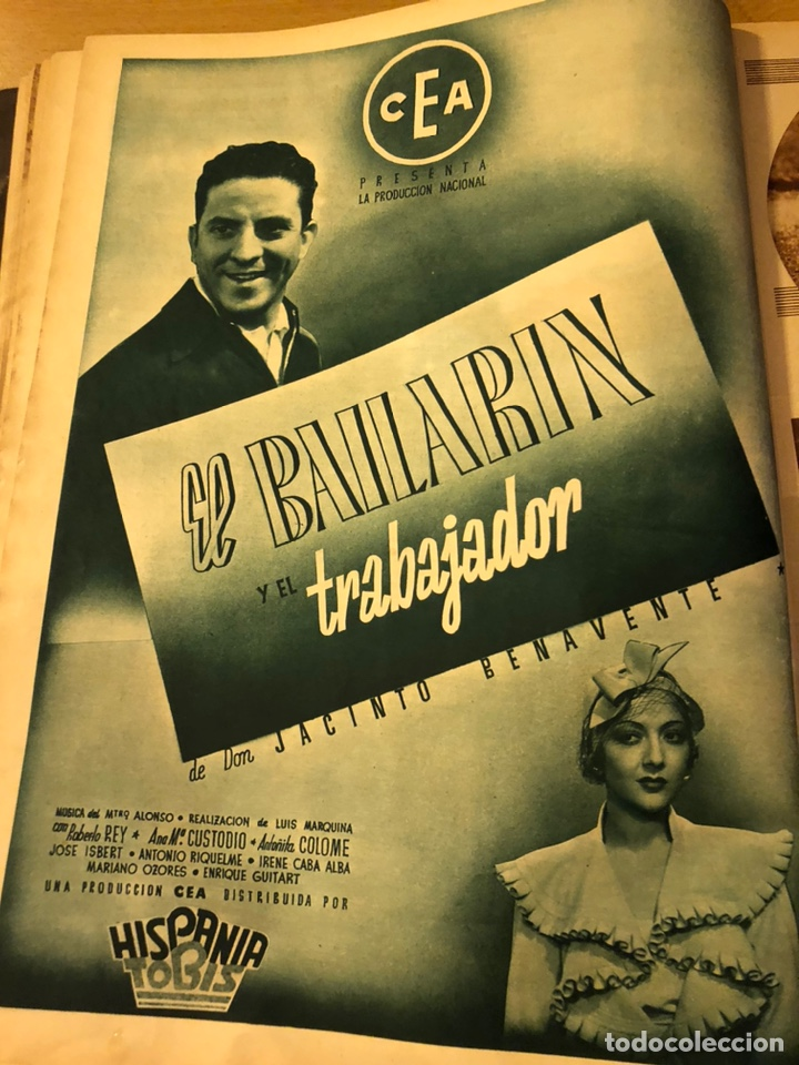 Cine: Cinegramas 81.imperio argentina.marlene Dietrich.edward g robinson.anna pavlova.harold lloyd - Foto 6 - 183433671
