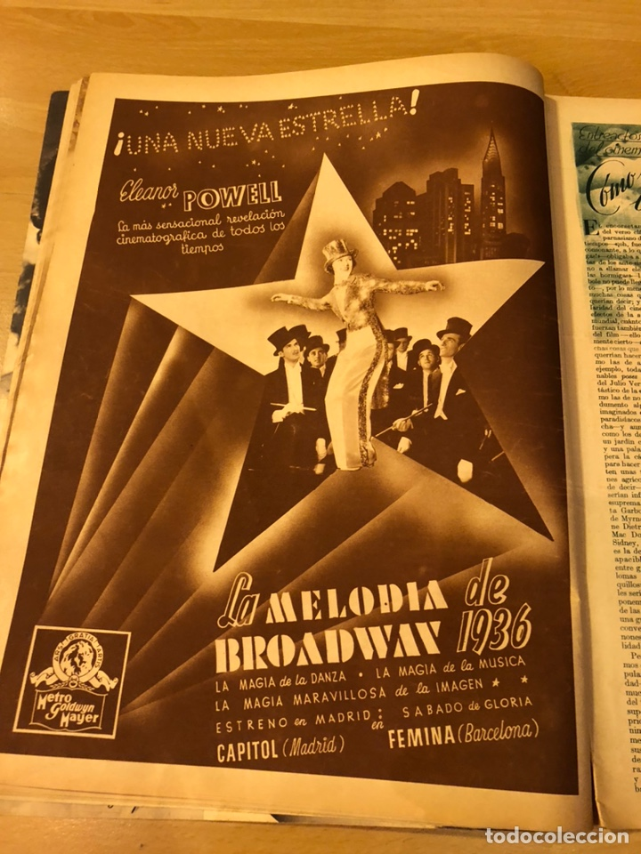 Cine: Cinegramas 81.imperio argentina.marlene Dietrich.edward g robinson.anna pavlova.harold lloyd - Foto 7 - 183433671