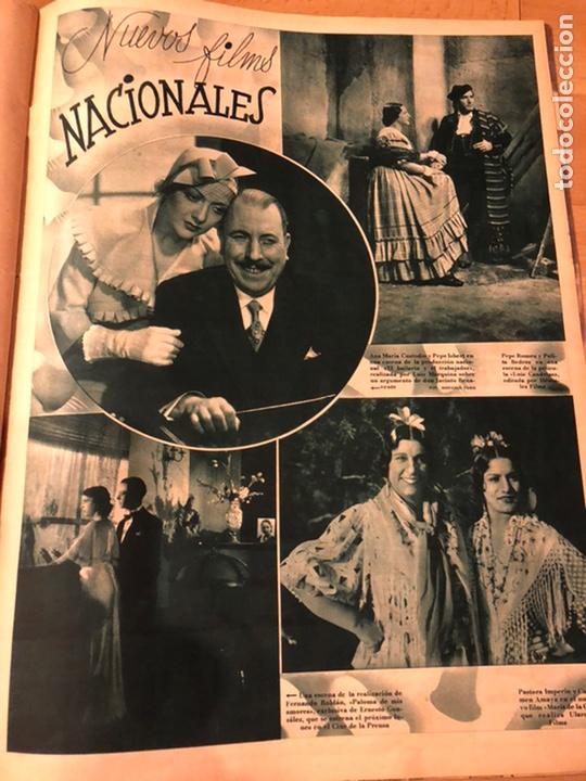 Cine: Cinegramas 81.imperio argentina.marlene Dietrich.edward g robinson.anna pavlova.harold lloyd - Foto 9 - 183433671