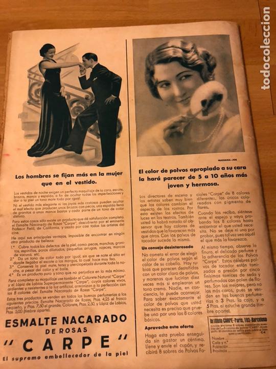 Cine: Cinegramas 81.imperio argentina.marlene Dietrich.edward g robinson.anna pavlova.harold lloyd - Foto 10 - 183433671