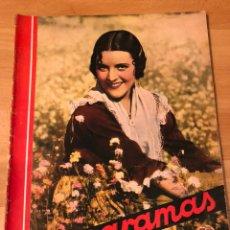 Cine: CINEGRAMAS 81.IMPERIO ARGENTINA.MARLENE DIETRICH.EDWARD G ROBINSON.ANNA PAVLOVA.HAROLD LLOYD. Lote 183433671