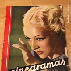 Cine: CINEGRAMAS 85.BETTY GRABLE.DOUGLAS FAIRBANKS.ABEL GANCE.CLAIRE TREVOR.REBELION BORDO SHIRLEY TEMPLE. Lote 183438631