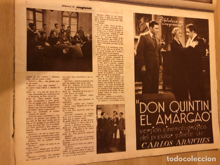 Cine: Cinegramas 55 james cagney.carole lombard.rosita Díaz. - Foto 9 - 183438943