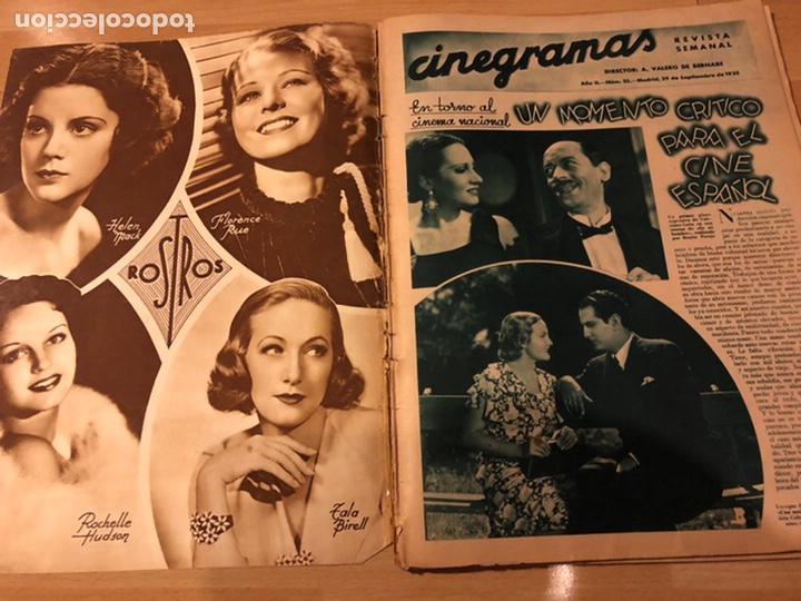 Cine: Cinegramas 55 james cagney.carole lombard.rosita Díaz. - Foto 10 - 183438943