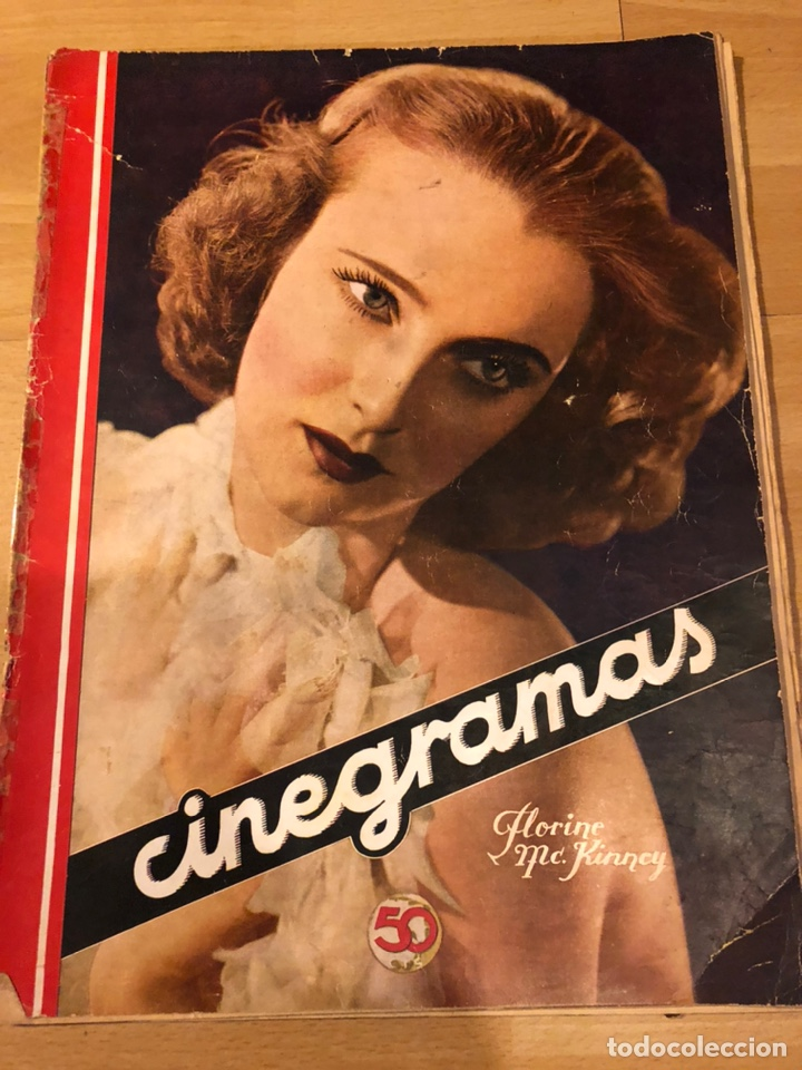 CINEGRAMAS 55 JAMES CAGNEY.CAROLE LOMBARD.ROSITA DÍAZ. (Cine - Revistas - Cinegramas)