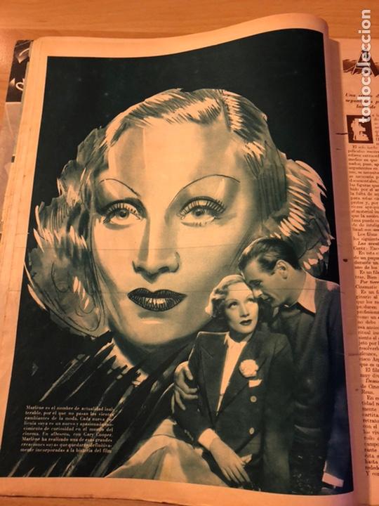 Cine: Cinegramas Gail patrick.marlene Dietrich gary cooper deseo.conchita Montenegro - Foto 2 - 183439141