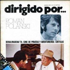 Cine: REVISTA DIRIGIDO POR, Nº 19. . Lote 183441018