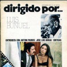 Cine: REVISTA DIRIGIDO POR, Nº 26. 19 PÁGINAS CON BUÑUEL.. Lote 183441318