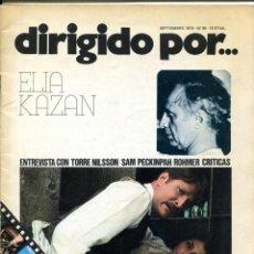 Cine: REVISTA DIRIGIDO POR, Nº 36. CON RECORTE EN UNA PÁGINA.. Lote 183441951