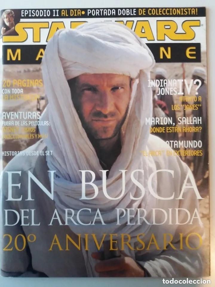 Cine: STAR WARS MAGAZINE Nº 4 NOVIEMBRE/DICIEMBRE 2001 - Foto 2 - 183462285