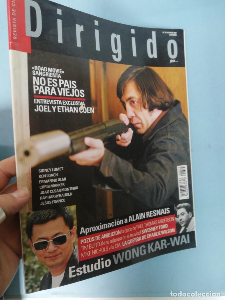 DIRIGIDO POR N. 375. FEBRERO 2008 (Cine - Revistas - Dirigido por)