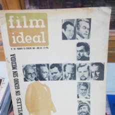 Cine: FILM IDEAL N. 90. FEB. 1961. Lote 183468911