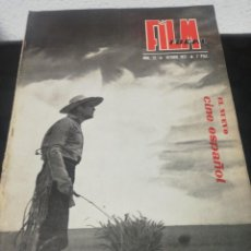 Cinema: FILM IDEAL N. 11. OCTUBRE 1957. Lote 183553140