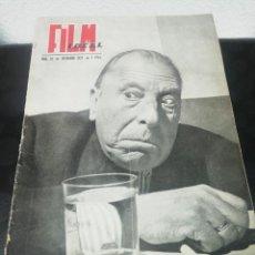 Cine: FILM IDEAL N. 14. DICIEMBRE 1957. Lote 183553325