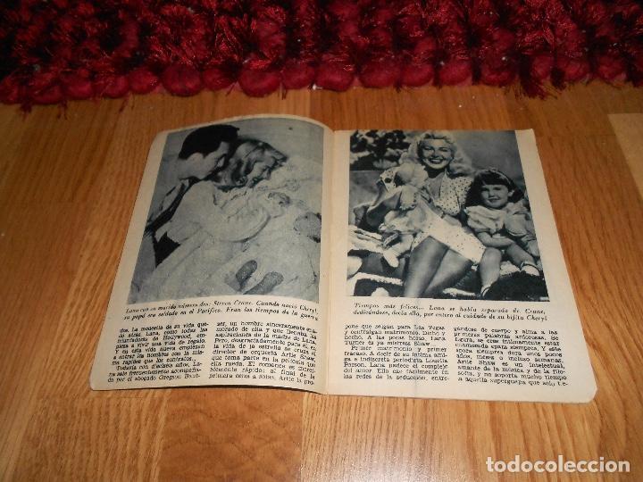 Cine: JML REVISTA COLECCION IDOLOS DEL CINE LANA TURNER Nº 12 2,50 PESETAS - Foto 3 - 183568248