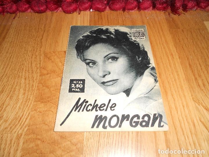 IDOLOS DEL CINE Nº 53 - MICHELE MORGAN - 1958 (Cine - Revistas - Colección ídolos del cine)
