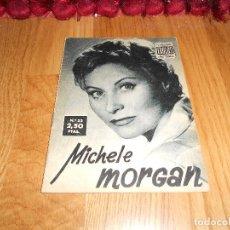Cine: IDOLOS DEL CINE Nº 53 - MICHELE MORGAN - 1958. Lote 183568492