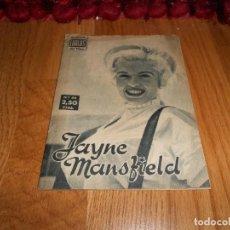 Cine: COLECCION IDOLOS DEL CINE -- JAYNE MANSFIELD -- AÑO II - Nº 49 - 1958. Lote 183568566
