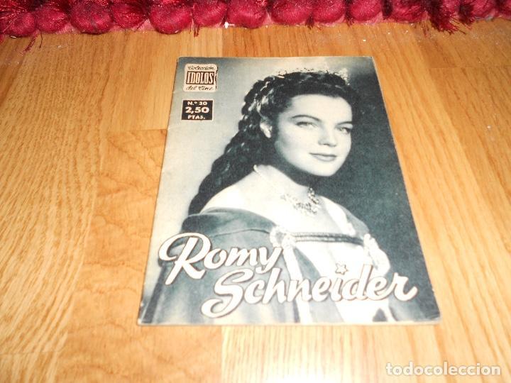 COLECCIÓN ÍDOLOS DEL CINE 30. ROMY SCHNEIDER. PRENSA GRÁFICA, ENERO 1959 (Cine - Revistas - Colección ídolos del cine)