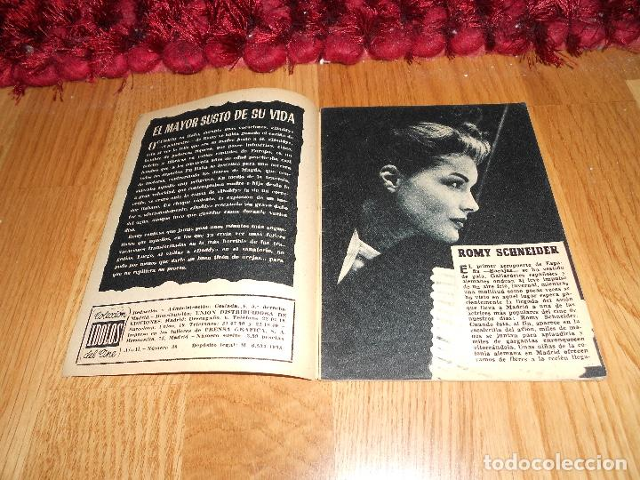 Cine: COLECCIÓN ÍDOLOS DEL CINE 30. ROMY SCHNEIDER. Prensa Gráfica, Enero 1959 - Foto 2 - 183568952