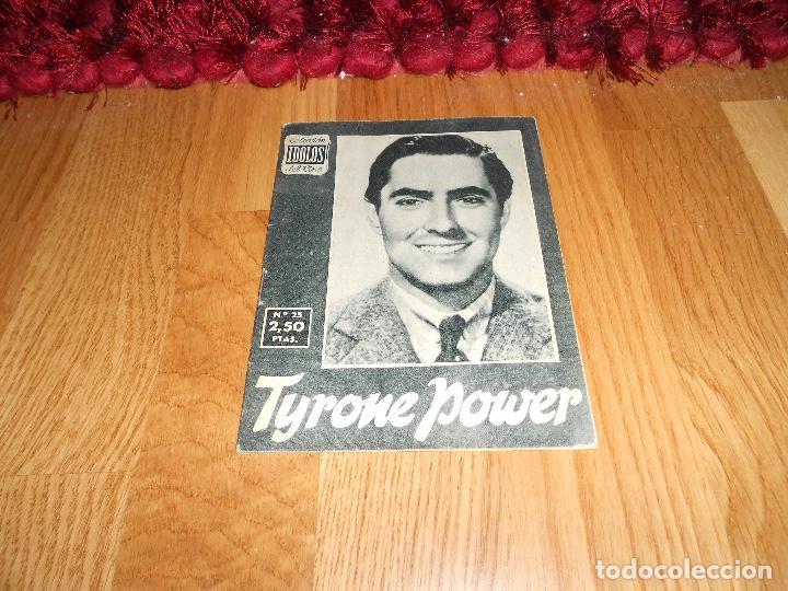 COLECCIÓN ÍDOLOS DEL CINE 25. TYRONE POWER. PRENSA GRÁFICA, DICIEMBRE 1958 (Cine - Revistas - Colección ídolos del cine)