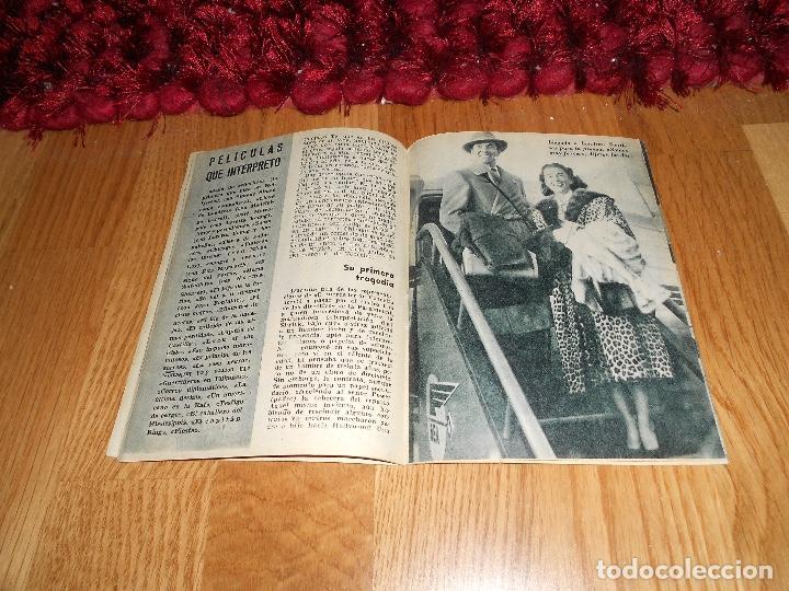 Cine: COLECCIÓN ÍDOLOS DEL CINE 25. TYRONE POWER. Prensa Gráfica, Diciembre 1958 - Foto 3 - 183569057