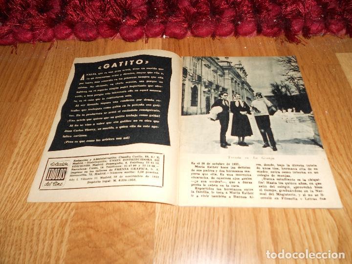 Cine: COLECCIÓN ÍDOLOS DEL CINE 23. ANALIA GADE. Prensa Gráfica, 20 Noviembre 1958 - Foto 2 - 183569371