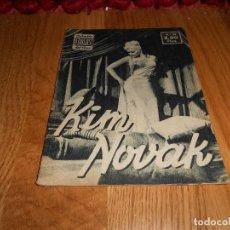 Cine: IDOLOS DEL CINE - Nº 22 - KIM NOVAK. Lote 183569575