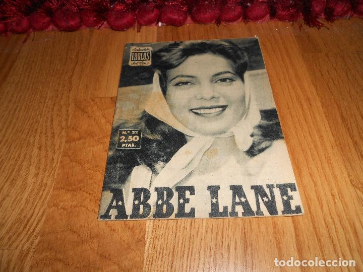 COLECCIÓN IDOLOS DEL CINE. Nº 32. ABBE LANE (Cine - Revistas - Colección ídolos del cine)