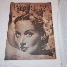 Cine: PRIMER PLANO REVISTA CINEMATOGRÁFICA. CAROL LOMBARD.. Lote 183603631